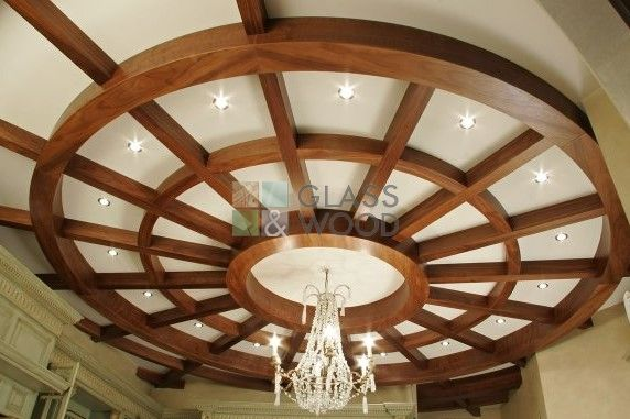 Wooden decorative elements