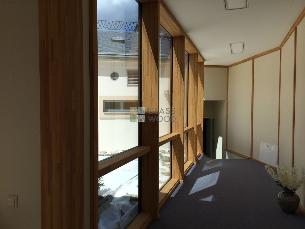 Wooden windows - manufacturing, installation
