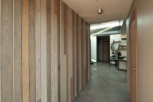 Design of Wood panels home