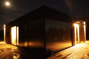 Wooden Modular Home LED Lighting