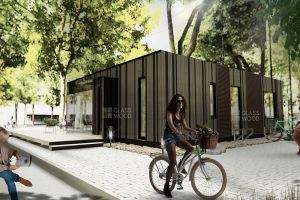 Designing a mobile office or residential building