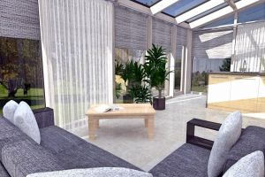 Wintergarden interior design