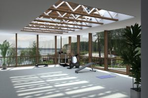 Glazing gym