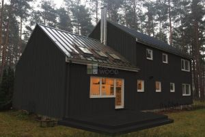 wooden house prject Latvia