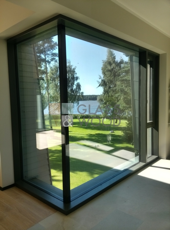 Structural glazing windows