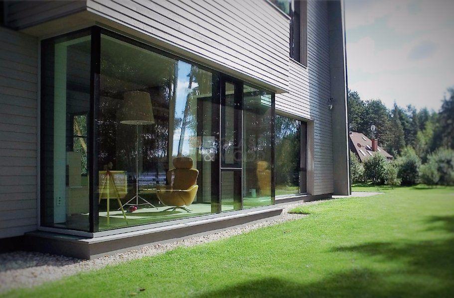 стена с тройным стекло пакетом