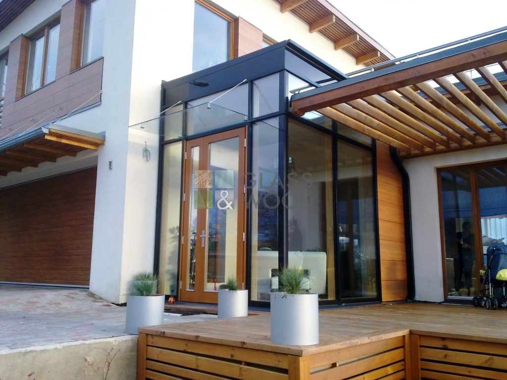 Glass constructions design
