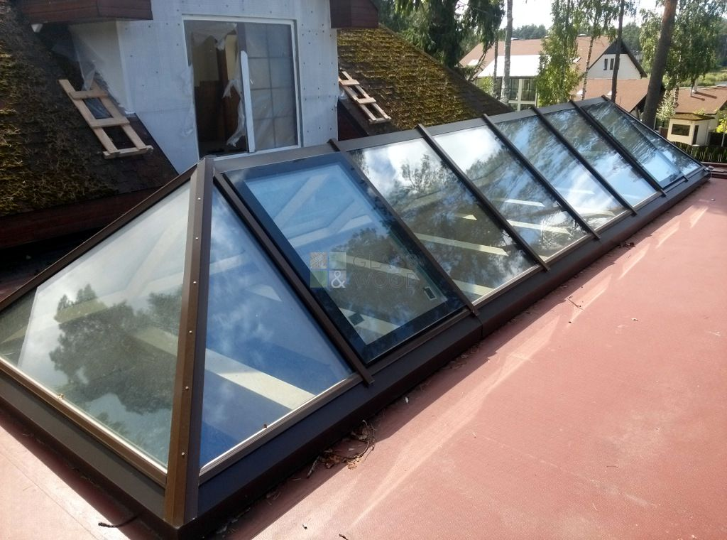 Roof glass elements