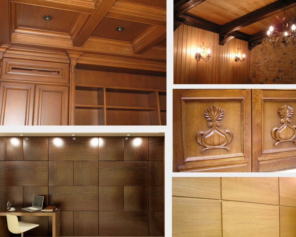 Wooden decorative panels